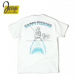 HAPPY FISHING TEE by sketch