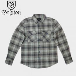 Bowery L/S Flannel Twilight Blue