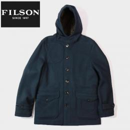 Hunting Wool Coat Navy